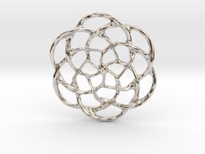 Celtic Pendant in Platinum
