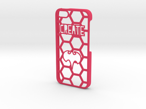 iPhone 5 Case - Customizable in Pink Processed Versatile Plastic
