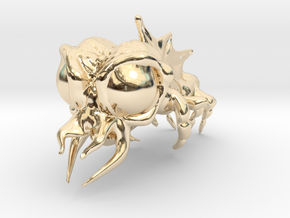 Alien in 14K Yellow Gold