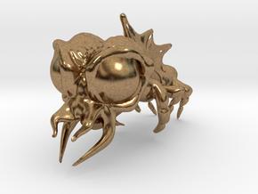 Alien in Natural Brass