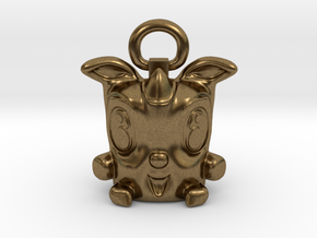 Lucky Rodent 003 in Natural Bronze