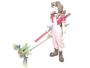 Princess Guard replacement weapon for Aerith FF7 in Full Color Sandstone