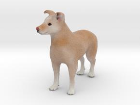 Custom Dog Figurine - Abby in Full Color Sandstone