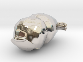 Glaux Pendant in Platinum