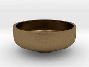 """3/4"""" Scale Nathan Whistle Bowl in Natural Bronze"""