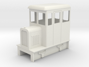 O9 inspection railcar in White Strong & Flexible