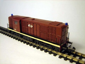 N 2400 DE NS LifeLike NEM met zwaailicht in Smooth Fine Detail Plastic