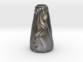 Vase Ist Los? in Polished Nickel Steel