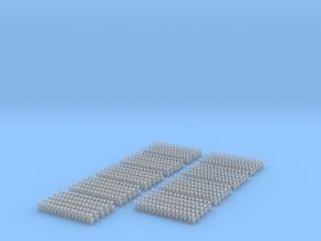 Kurze Kupplungen - 720 Stück in Smooth Fine Detail Plastic