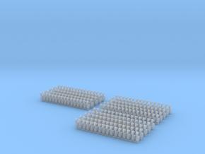 Kurze Kupplungen - 240 Stück in Smooth Fine Detail Plastic