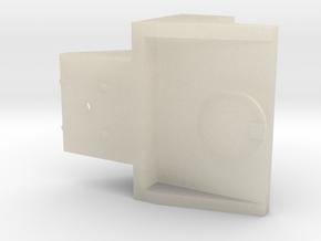 Bell Bracket in White Acrylic