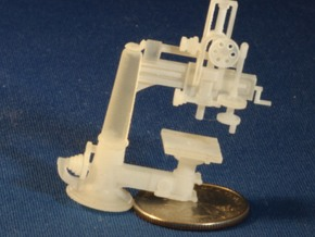 Radial Drill Press S Scale in Frosted Ultra Detail