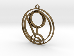 Quinn - Necklace in Natural Bronze