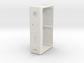 DZ40X2 (Body) in White Natural Versatile Plastic