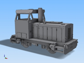 HZL V34 Gmeinder Spur H0 1:87 in Frosted Ultra Detail