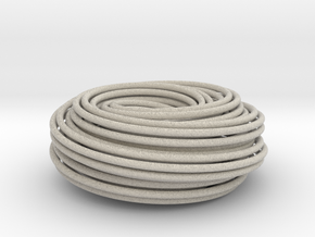 Torus Knot Knot 2 7 2 7 in Natural Sandstone