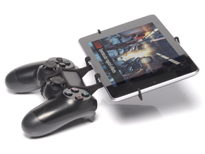 PS4 controller & XOLO Play Tab 7.0 in Black Natural Versatile Plastic