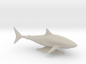 Sharkie in Natural Sandstone