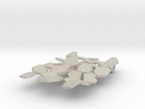 Fracte pendant in Natural Sandstone