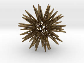 32 Point Star in Natural Bronze