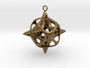 Christmas Star No.2 in Natural Bronze