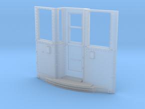 Baldie # 4190 - dual telephone style door controls in Smooth Fine Detail Plastic