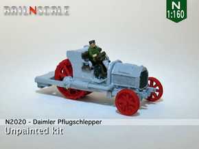 Daimler Pflugschlepper (N 1:160) in Smooth Fine Detail Plastic