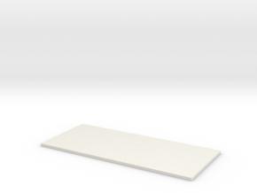 Transformer Bttm Plate-1 in White Strong & Flexible
