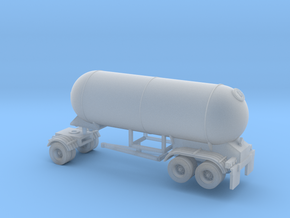 N scale 1/160 LPG Pup twin-axle trailer 15 in Frosted Ultra Detail