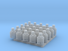 Kerosene Heaters for Reefers HO scale X25 in Smooth Fine Detail Plastic