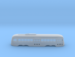 N Scale Prewar PCC PTC Version BODY #2 in Smooth Fine Detail Plastic