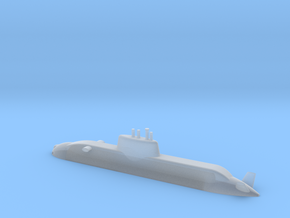 1/700 Dolphin class submarine (Waterline) in Frosted Ultra Detail