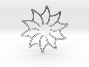 Dreamcatcher - Flower in Natural Silver