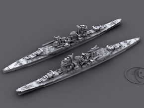 1/1800 IJN CA Myoko[1944] in White Natural Versatile Plastic
