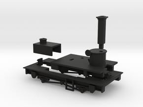 009 Sentinel - Parts 1, 5, 6 & 8 in Black Natural Versatile Plastic
