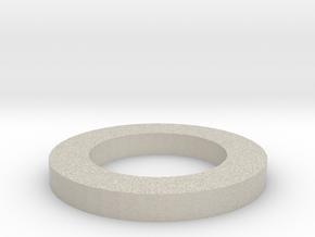 16x NeoPixel Ring Holder in Natural Sandstone