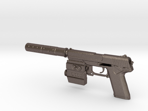1/6 Socom MK23 in Polished Bronzed Silver Steel