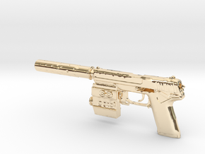 1/6 Socom MK23 in 14K Yellow Gold