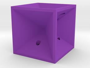 Dice41 in Purple Processed Versatile Plastic