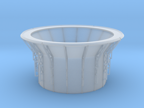 Observatory Drum V0.1 in Smooth Fine Detail Plastic