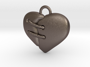 Cuore 30mm in Stainless Steel