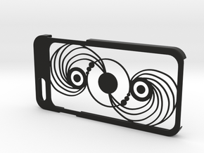 iPhone 6 case with crop Circle in Black Strong & Flexible