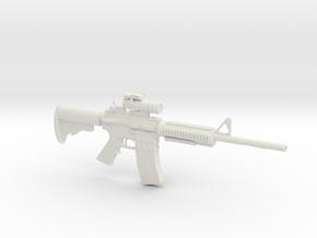1/6 MA 41 Carbine in White Natural Versatile Plastic