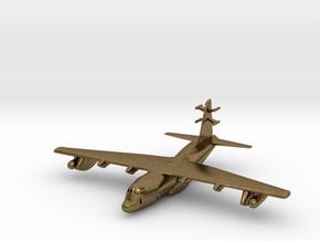 1:700 Lockheed EC-130j Commando Solo Military Airc in Natural Bronze