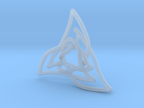 Triquetra 3 in Smooth Fine Detail Plastic