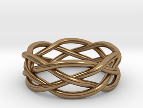 Dreamweaver Ring (Size 7) in Natural Brass