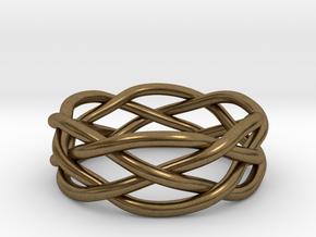 Dreamweaver Ring (Size 7) in Natural Bronze