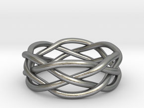 Dreamweaver Ring (Size 8) in Natural Silver