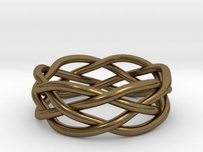 Dreamweaver Ring (Size 10) in Natural Bronze