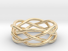 Dreamweaver Ring (Size 10.5) in 14K Yellow Gold